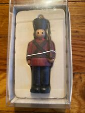 Russ Berrie Christmas Ornament - Bears From The Past Collection - Toy Soldier