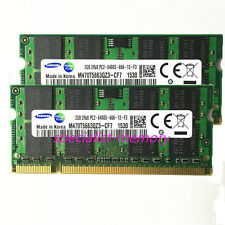 New Samsung 4GB 2X2GB DDR2-800MHZ PC2-6400 pc6400 Laptop Memory 200pin SODIMM