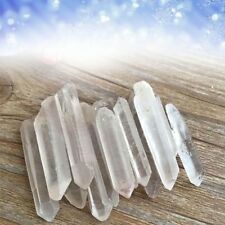 New Healing Crystal Stone Quartz Single Natural Clear Column Decoration Pointed