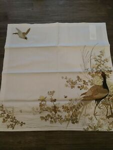 Williams Sonoma Walden Napkins Birds Set Of 8
