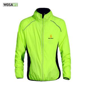 Men's Cycling Jerseys Windproof Waterproof Reflective Bike Jacket Bicycle Coat