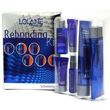 Lolane Straight Rebonding Hair Permanent System Straightening Cream Kit
