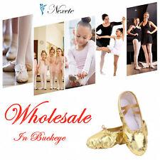 Wholesale-Ballet Dance Shoes  Canvas Slipper Kids & Adult  OHIO Wholesale