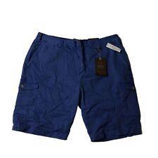 Weatherproof Mens Cargo Shorts Dutch Blue 36 Authentic Sportswear Lightweight