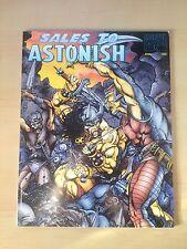 Marvel Comics Sales to Astonish April 1994 catalog Conan Spiderman Hulk ashcan