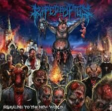 RAPED BY PIGS - Squealing To The New World Cephalotripsy Flesh Consumed Disgorge