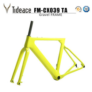 T800 Carbon Gravel Bike Frame 700C*40 Or 27.5*2.1 Carbon Road Mountain Frames