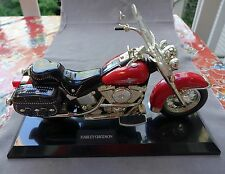 Jumbo Harley Davidson Working  Motorcycle Telephone Red Black Heritage Softail