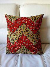 Patchwork copri cuscino fatto a mano, tessuto americano