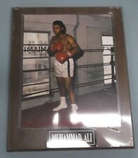 Muhammad Ali 8x10 Photo on 10 1/2 x 13 Plaque engraved plate