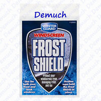 NEW CAR WINDSCREEN PROTECTOR FROST SNOW ICE DUST COVER SHIELD FRONT & REAR UK ✔