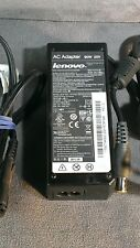 """Lot of 20 Genuine Lenovo 90W 20V AC Adapter """"Large Plug"""" 42T4430 w/ Power Cable"""