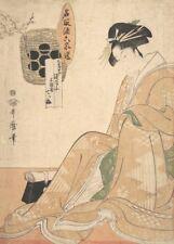 A Courtesan III, KITAGAWA UTAMARO Japan, 1700's, ukiyo-e prints