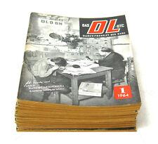 Das DL-QTC, Zeitschrift des DARC, Jahrgang 1964, Heft 1...12