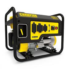 100406R - 3550/4450w Champion Generator, manual start - REFURBISHED
