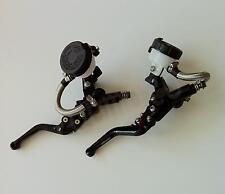 """7/8"""" Clutch Brake Levers Master Cylinder Reservoir For Suzuki SV1000/S 2003-2010"""