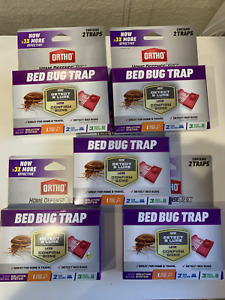 Ortho Home Defense Max Bedbug Trap 10 TRAPS (5 Boxes)  w/Free Shipping!
