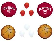 INDIANA HOOSIERS Basketball Game Birthday Party Balloons Decorations Supplies
