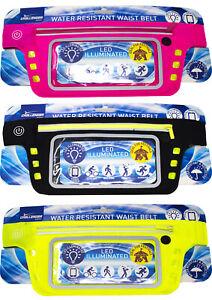 Brand New Transparent Hi-Vis Water Resistant LED Smart Phone Belt - Free P&P