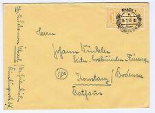 Bizone/AM-Post, Mi.  13, MeF, Übach 1/Herzogenrath Kr Aachen, 26.1.46