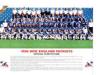 1996 NEW ENGLAND PATRIOTS TEAM 8.5X11  PHOTO AFC CHAMPS  FOOTBALL NFL AFL