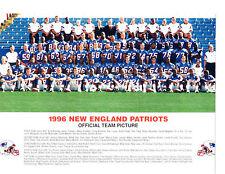 1996 NEW ENGLAND PATRIOTS TEAM 8X10  PHOTO AFC CHAMPS  FOOTBALL NFL AFL