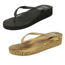 Sandalias con plataforma de mujer de color principal negro