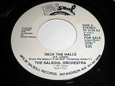 The Salsoul Orchestra: Deck The Halls / (Same) 45 - Soul Disco
