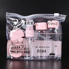 Shampoo Lotion Perfume Container Make Up Travel Bottle Set Cosmetics