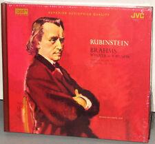 XRCD JMXR 24010: BRAHMS - Piano Sonata in F min etc Rubinstein - 2003 OOP JPN SS