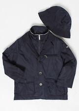 IL GUFO Jungen Übergangsjacke mit Hut dunkelblau Gr. 4/104, 6/116, 8/128 NEU