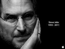 STEVE PAUL JOBS APPLE IPHONE 6 GREAT MAN TRIBUTE POSTER