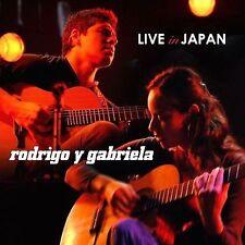 Live in Japan - Rodrigo Y Gabriela - CD/DVD - 2 Discs Like New