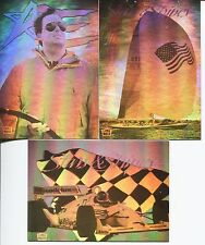STARS & STRIPES DENNIS CONNER RACING 3-CARD CHASE SET-1992-EXCELLENT CONDITION