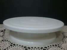 Wilton 11 Inch Ball Bearing Revolving Turntable Cake Stand 415-900 NIB pre-owned