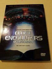 Close Encounters of The Third Kind Collectors Edition 2 Dvd Set Used
