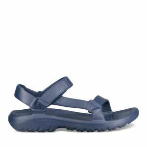 Teva Hurricane Drift Waterproof Navy Rubber ultra-comfy Sandals for Men