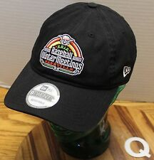 NEW ERA 2012 MLB BASEBALL WINTER MEETINGS NASHVILLE HAT BLACK ADJUSTABLE Q