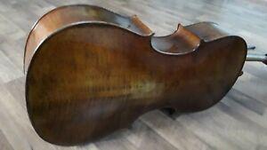 Nr.365 Cello mit Zettel Ferdinand Lantner 4/4