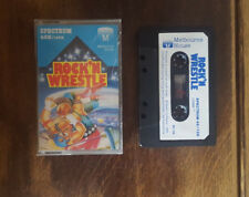 Rock N Wrestle - Spectrum 48/128K - cassette - complete