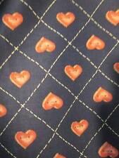 Button Hearts Overall #7142-45x102 Inches Daisy Kingdom Past & Presents Fabric-1