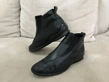 Womens Rene by ARA Black Ankle Boots Size US 6.5 Uk 4.6 [WB2]