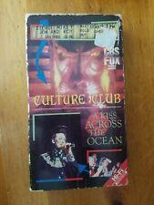 "Culture Club ""A Kiss Across The Ocean"" BETA MAX Boy George Concert Tape (1984)"