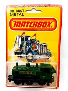 Vintage 1980 Matchbox 1-75 Series #47 Pannier Locomotive Train Car Brand New