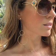 1 Pairs Women Punk Simple Geometric Circle Ear Stud Earrings Fashion Hot Jewelry