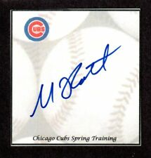 Michael Roth ( Debut 2013 ) LAA TEX  SIGNED AUTOGRAPH AUTO 3x5 INDEX COA
