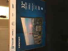 elements 32 inch class Led Tv with original box, in spare room hardly used $69!