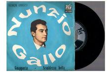 """NUNZIO GALLO GUAPPARIA + SCIULDEZZA BELLA 1966 VIS 7"""" 45 GIRI"""