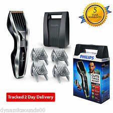 Philips HC5450 Mens Cordless DualCut Hair Clipper with 3 Beard Combs & Hard Case
