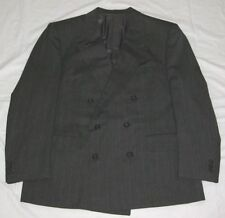 Pinstripe Double Breasted Suits for Men